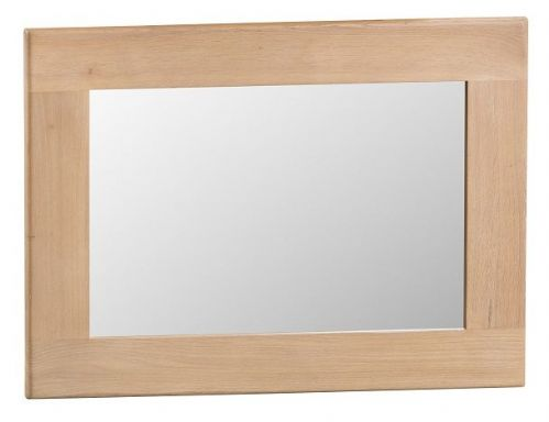 Oxford Oak Small Wall Mirror